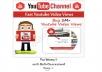 Provide you 1,000 High Quality non drop LifeTime Guaranteed YouTube Video Views