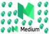 do organic 50 claps to your medium article in 100 real active users just50