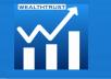 Provide 100+ wealthtrust.in Active & Non Drop Followers