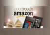 give you 150+ Non Drop Guaranteed Goodreads Followers