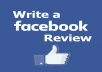 50 FacebookPromote five star rating and review on your fan page