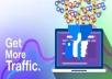 get you 1,000 website traffic