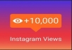 I will manage your1,000 instagram account video view an expert