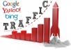 deliver 60 000 website worldwide traffic