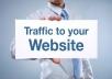 deliver 30 000 website worldwide traffic