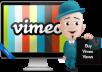 add 1000 Real Vimeo Plays